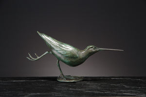 'Snipe Skating' Limited Edition Bronze Sculpture by Ian Greensitt