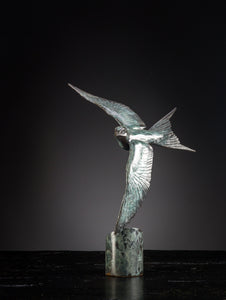 'Swallow II' Limited Edition Bronze Sculpture by Ian Greensitt