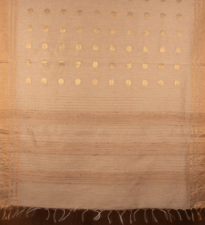 Natural Pure Muga Silk Handwoven Saree | 22159101