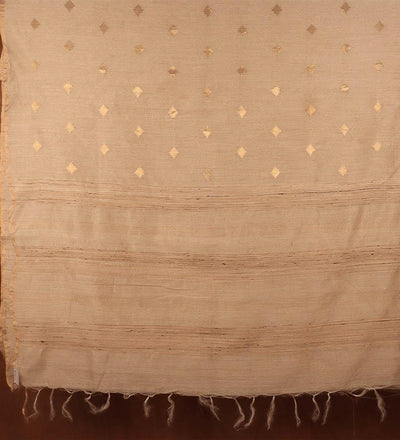 Natural Pure Muga Silk Handwoven Saree | 22167101