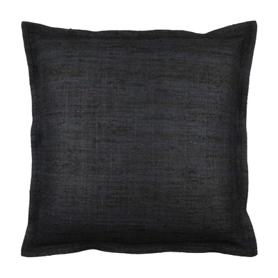 Tussar Wild Silk Flanged Pillow cover Front+Back-Silk | 23017
