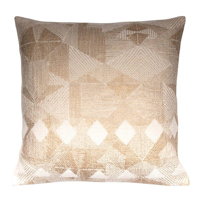 Metallic Printed Acrylic Knife edge Pillow cover Front-Print,Back-Cotton | 23041
