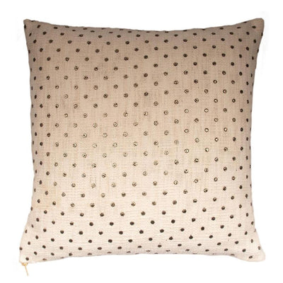 Beadwork Print Cotton Knife edge Pillow cover Front-Print,Back-Cotton | 23046