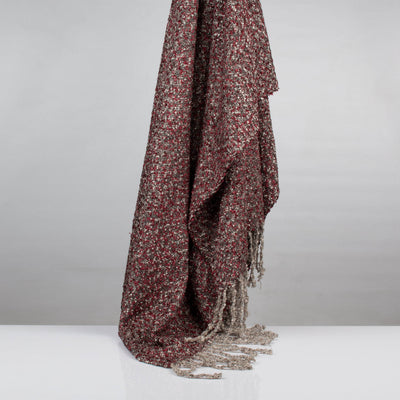 Multi Tweed Viscose Throw | 23072