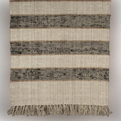 Boucle Plaid Cotton Throw | 23077