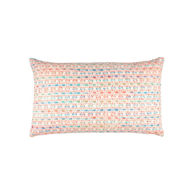 Boucle Multi Tweed Silk Knife edge Pillow cover Front+Back-Silk Tweed | 23092