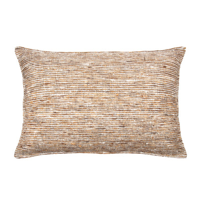 Tussar Wild Silk Pillow cover Front+Back-Cotton Silk Viscose | 23218