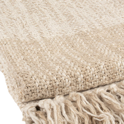 Stone washed Natural Heavy Linen Throw Throw | 23240