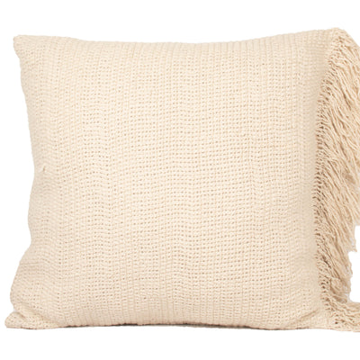 Stone washed Natural Cotton Knife edge Pillow cover Front+Back-Cotton | 23243