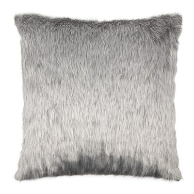 Fur Acrylic Knife edge Pillow cover Front-Fur,Back-Linen | 23246