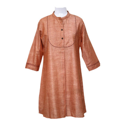 Brown  Cotton Tunic | 31035102