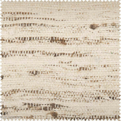 Plain Weave Wild Tussar Silk Fabric | 7111