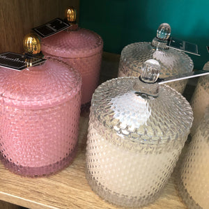 BOXED CANDLE GLASS WITH LID