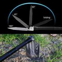 "Load image into Gallery viewer, ""Man Tool"" Survival Camping Shovel Folding Durable Multi-tool"