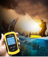 Load image into Gallery viewer, Fish Finder Sonar Kit 100M Depth Portable Echo Sounder Fresh / Salt Water Free Shipping