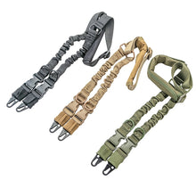 Load image into Gallery viewer, Made in the USA Two-point Elastic Tactical Shoulder Strap: Free Shipping Always