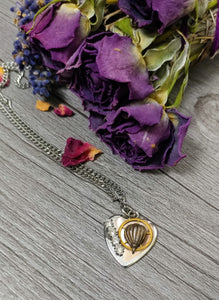 Juliette Steampunk Heart Necklace