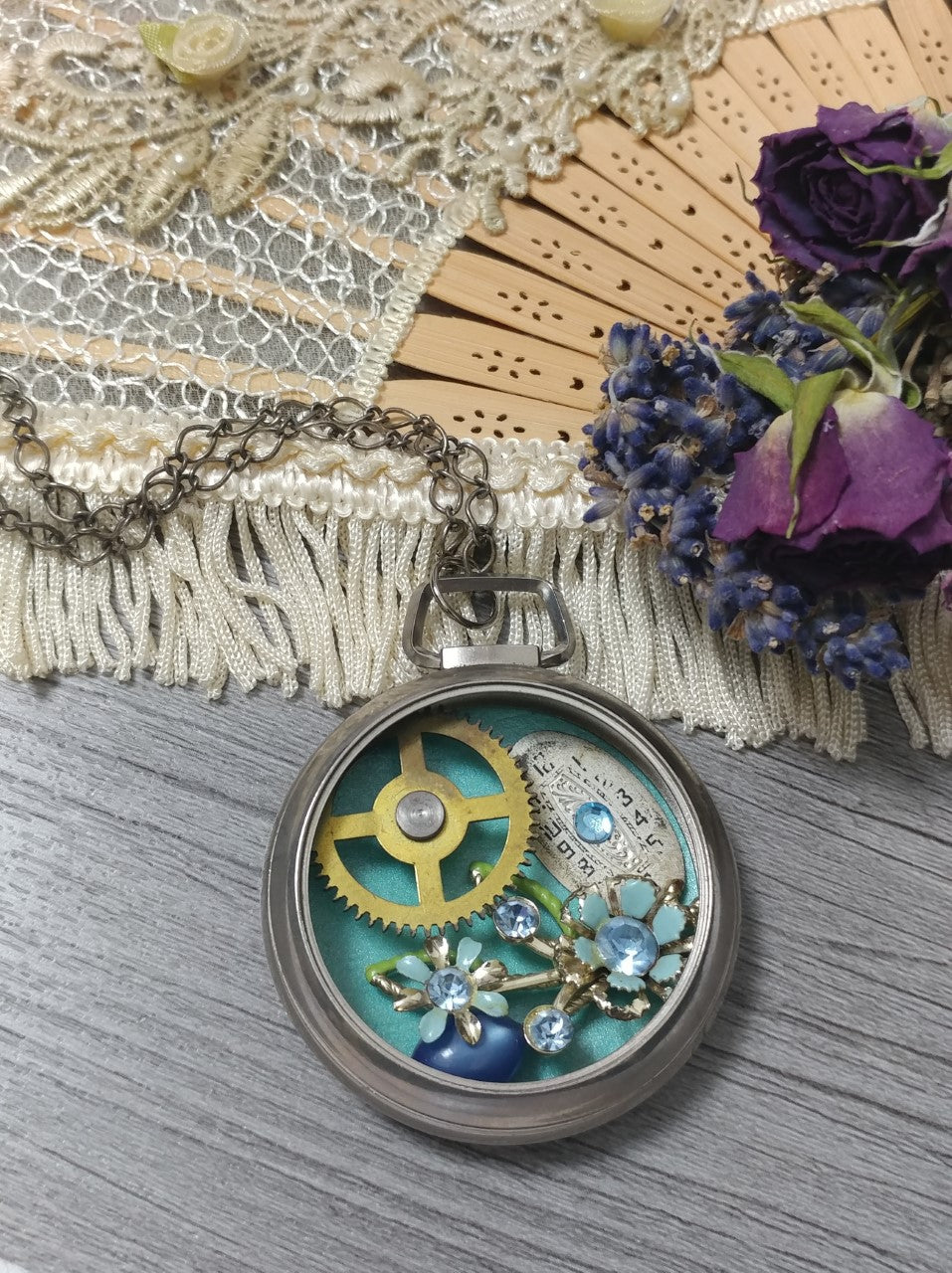Ren Spring Steampunk Necklace