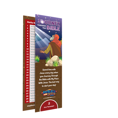 Journey Through the Bible bookmark 2