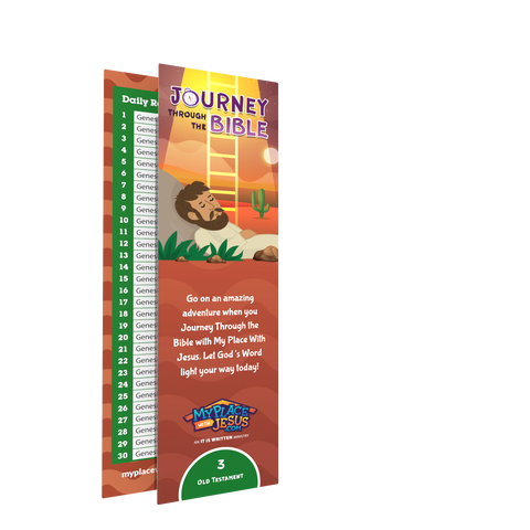 Journey Through the Bible bookmark 3
