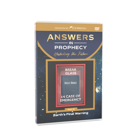 Answers In Prophecy: Earth's Final Warning Episode 8 DVD