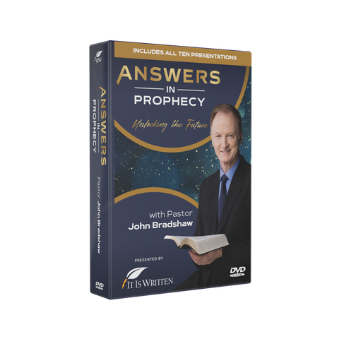 Answers In Prophecy DVD set