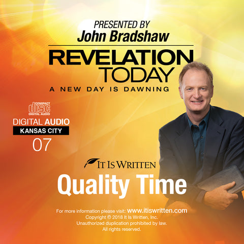 A New Day is Dawning CD #07: Quality Time
