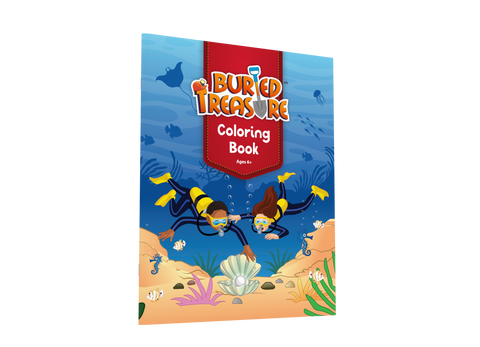 Buried Treasure Coloring Book