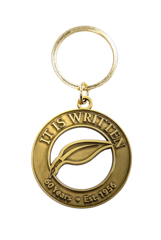 It Is Written 60th Anniversary keyring