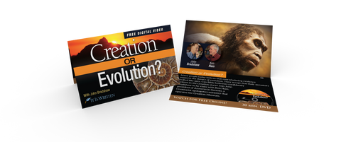 Media Sharing Cards - Creation or Evolution (Pack of 100)-0