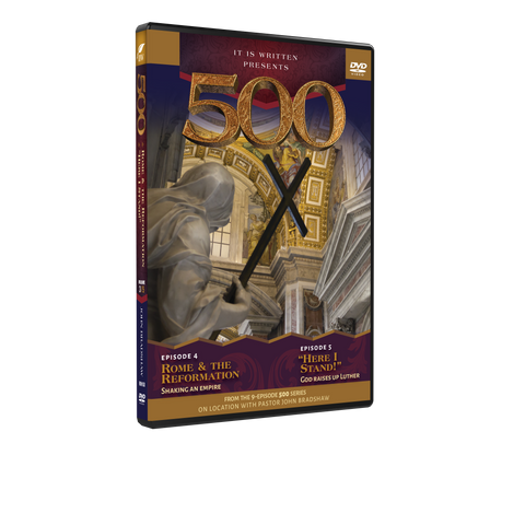 500: Episodes 4 and 5 DVD-0