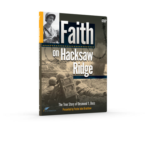 Faith on Hacksaw Ridge DVD-0