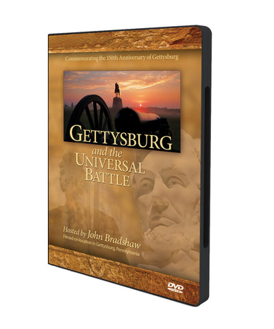 Gettysburg and the Universal Battle DVD-0