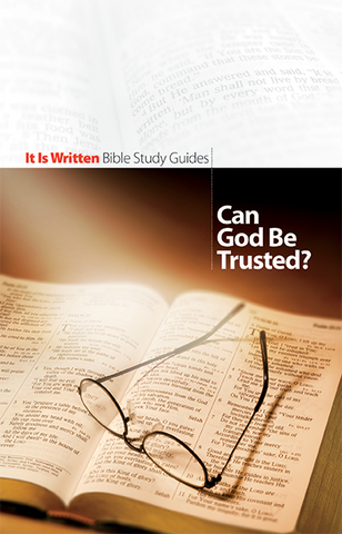 Can God Be Trusted? (Bible Study Guide 1)-0
