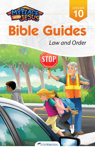Law and Order (My Place with Jesus Guide 10) -0