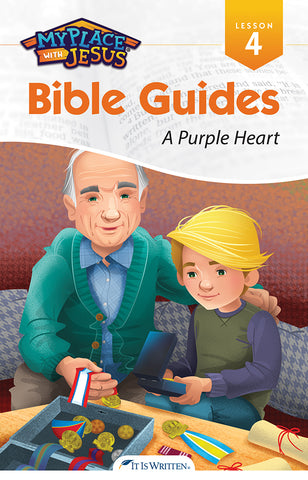 A Purple Heart (My Place with Jesus Guide 4) -0
