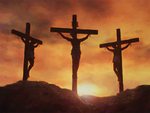 Inspirational Postcard - Crucifixion-0