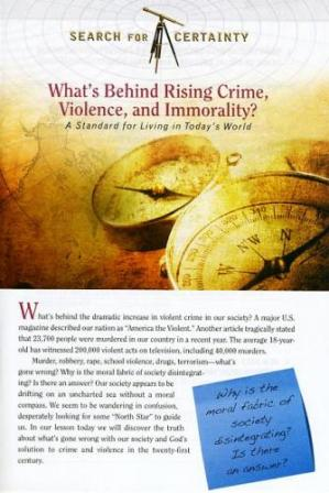 Search For Certainty #11 - What's Behind Rising Crime, Violence, and Immorality?-0