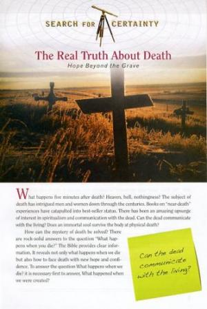 Search For Certainty #16 - The Real Truth About Death-0