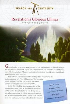 Search For Certainty #30 - Revelation's Glorious Climax-0