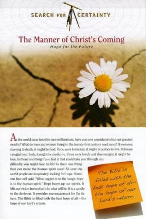 Search For Certainty #4 - The Manner of Christ's Coming-0
