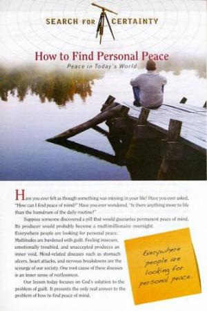 Search For Certainty #5 - How to Find Personal Peace-0