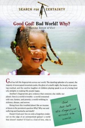 Search For Certainty #7 - Good God! Bad World! Why?-0