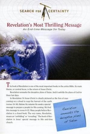 Search For Certainty #8 - Revelation's Most Thrilling Message-0