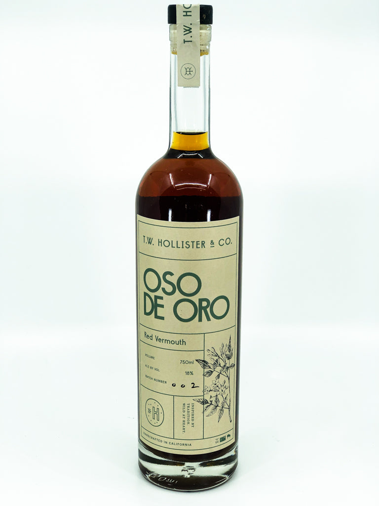 T.W. Hollister - 'Oso de oro - Red Vermouth' - Santa Barbara County, CA - NV