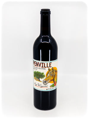 Penville - 'True West - Enz Vineyard' - Mourvedre - Lime Kiln Valley AVA, San Benito County, CA - 2017