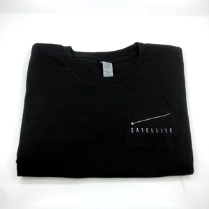 Satellite Pocket Tee - Black