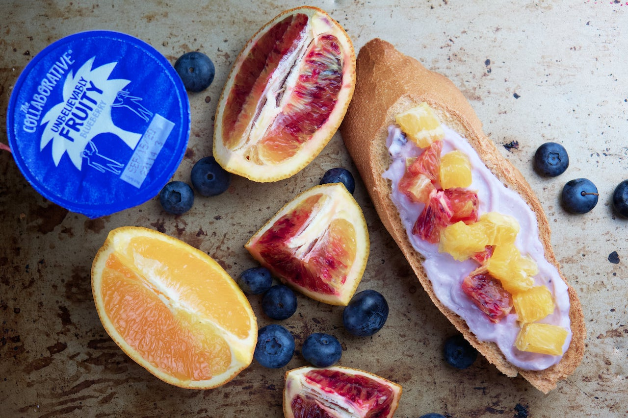 CITRUS BLUEBERRY TOAST