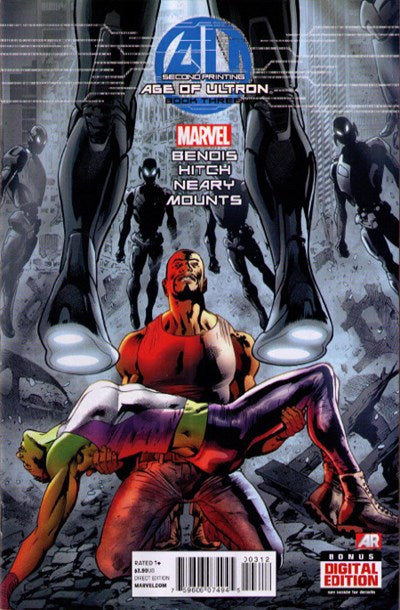 AGE OF ULTRON #3 (2ND PRINT)