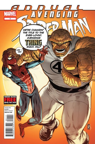 AVENGING SPIDER-MAN #1 ANNUAL